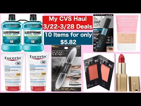 CVS COUPONING HAUL (March 22-March 28 CVS DEALS) PRINTABLE AND DIGITAL COUPONS