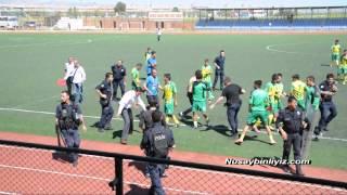 Girmeli Belediye Spor 0-0 Nusaybin Belediye Spor maç sonrası olaylar