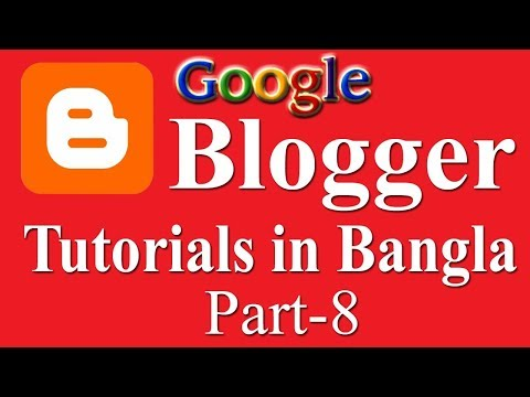How to create a new blog post on blogger in bangla part 8