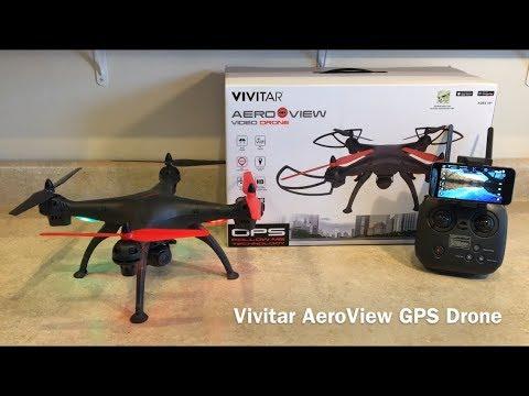 Vivitar AeroView GPS Drone Review