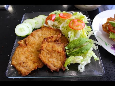 Mexican food: Steak Milanesa recipe