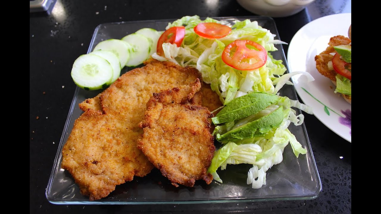 Steak milanesa recipe easy mexican food youtube forumfinder Image collections
