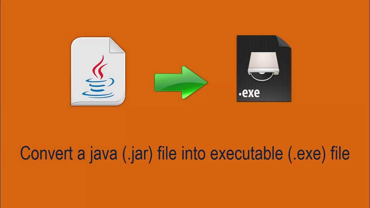 Convert  jar to  exe file