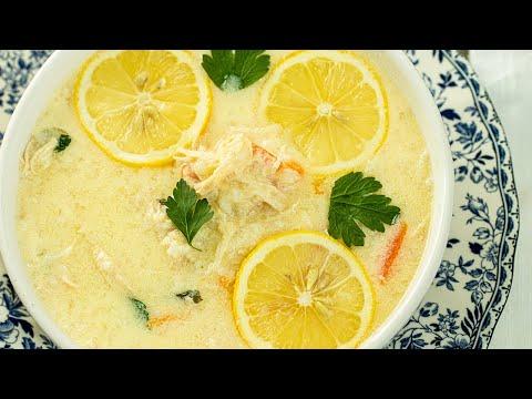 avgolemono soup  chicken soup