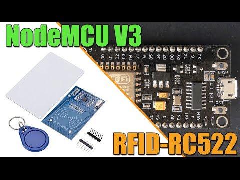 คลิปวีดีโอสอน Arduino ESP8266 NodeMCU RFID : ESP8266 ติดต่อ RFID