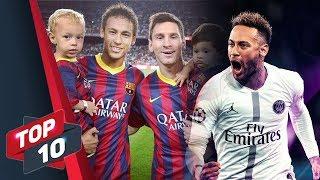 Top 10 bí mật thú vị về Neymar Jr