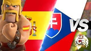 ESPAÑA VS CHECOSLOVAQUIA | CR WORLDS (MGL) con Malcaide | Clash Royale
