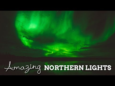Amazing Northern Lights | Yellowknife, Canada