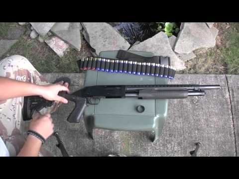 dR: Mossberg 500 12ga accessories and tips