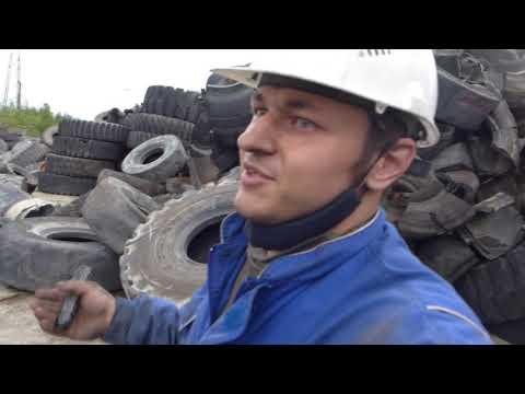 Осмотр КГШ. Ищем пригодные к ремонту шины / OTR diagnosis