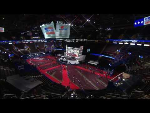 7/20/16: Republican National Convention - Gov. Scott Walker, Marco Rubio, Ted Cruz, Newt Gingrich