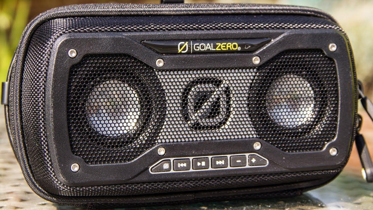 Goal Zero Rock Out 2 Solar Wireless Speaker Youtube