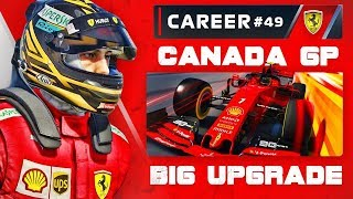 F1 2019 Career Mode Part 49: Squeezing Past the Traffic!