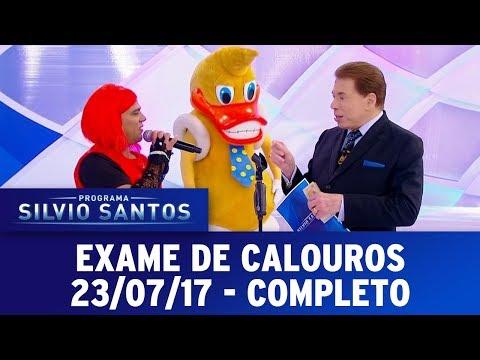 Exame de Calouros | Programa Silvio Santos (23/07/17)