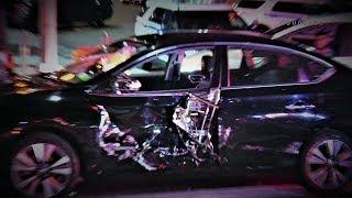 Multiple Car Crash at 68 Precinct Bay Ridge