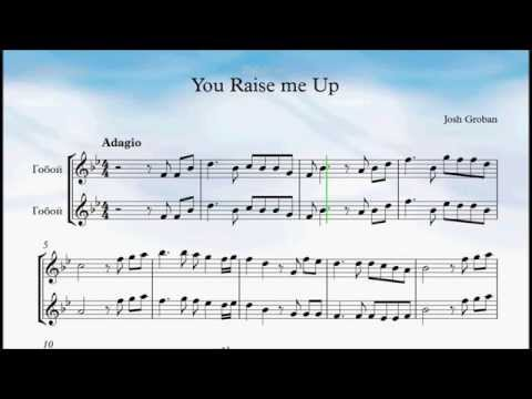 You Raise Me Up Oboe