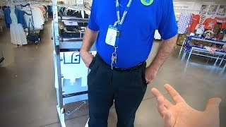 BUSTED WITH MY GOPRO IN GOODWILL