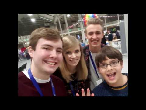 Minevention Vlog Dublin 2017 I met Gaming YouTubers!