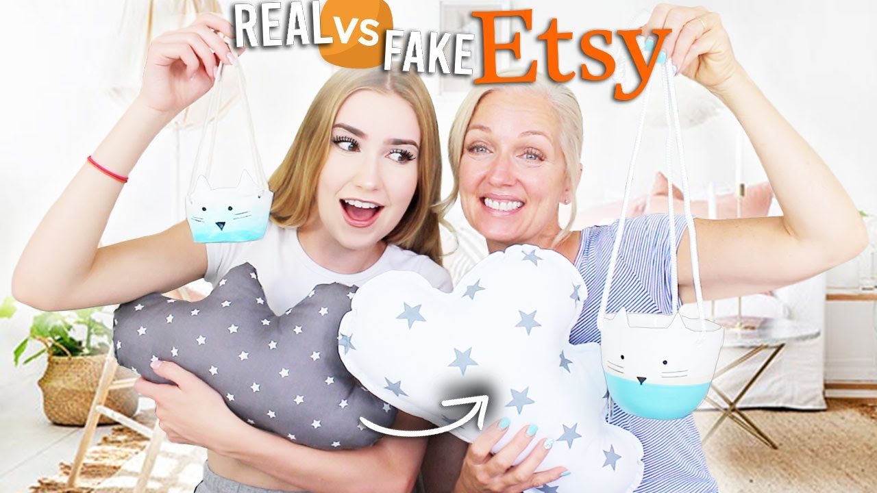 Download Mom Judges REAL Etsy Products VS. The Ones I Made!!