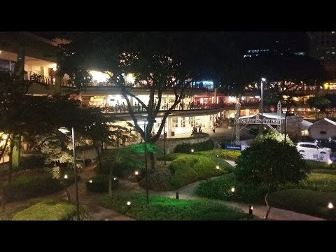 Meeting Filipinas at Ayala Mall, Nightlife, Roof top bars and restos ~ Cebu City Philippines Video 5