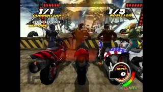 Nitrobike - Gameplay PS2 HD 720P