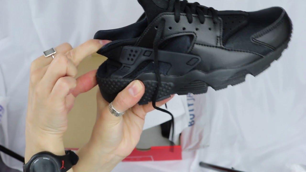 7b504eedda06 Unboxing Nike Air Huarache Run Wmns 634835-012