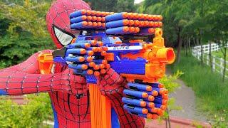 Spider Man Nerf War