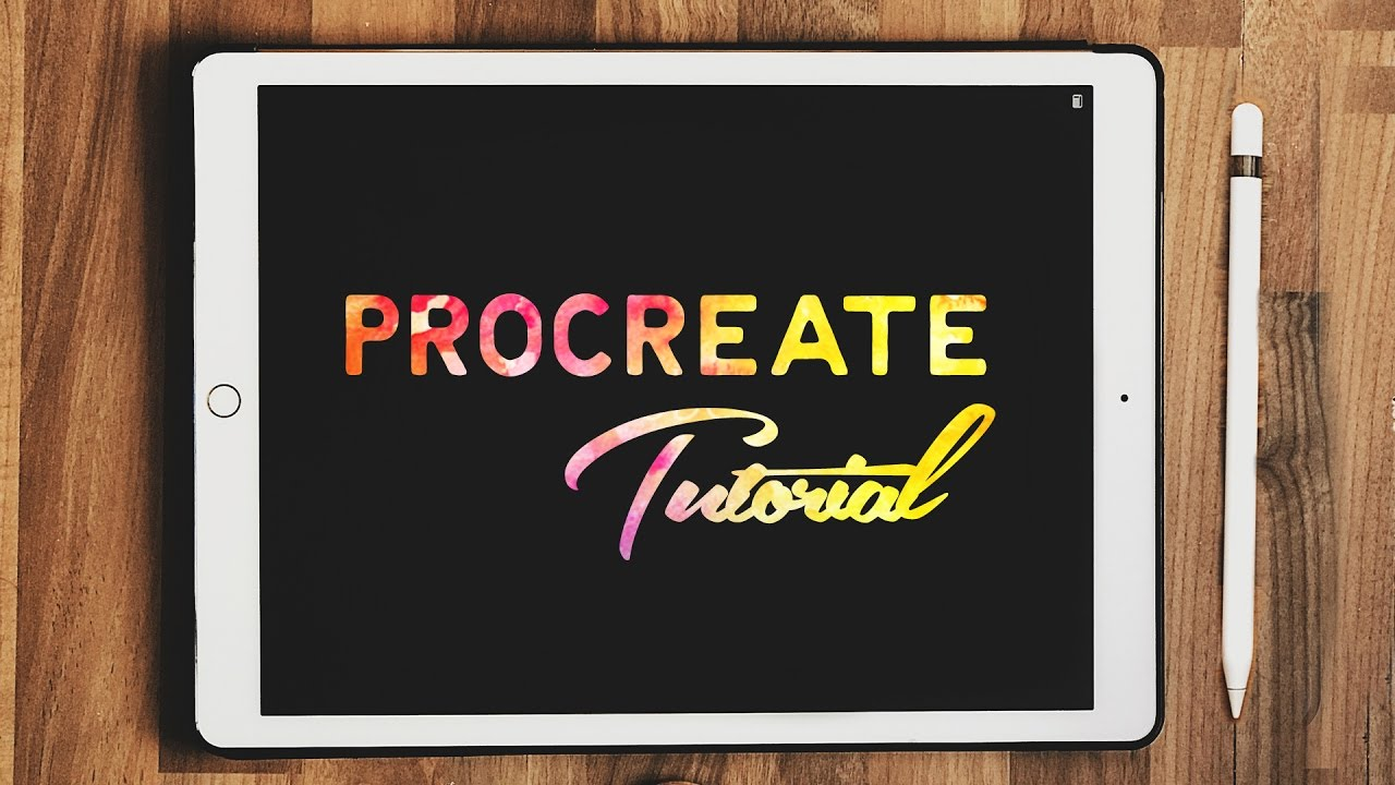 Procreate Lettering For Beginners - iPad Pro Tutorial
