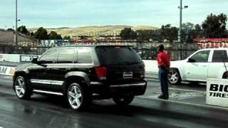 Trailblazer SS vs Jeep SRT8
