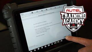 Autel MaxiSYS MS909 Passenger Seat Occupancy Sensor Calibration