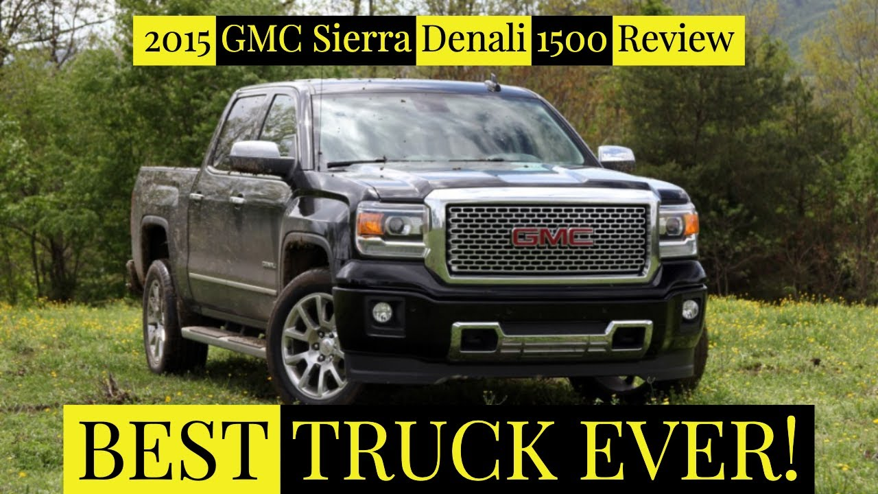 2015 gmc sierra denali 1500 review youtube. Black Bedroom Furniture Sets. Home Design Ideas