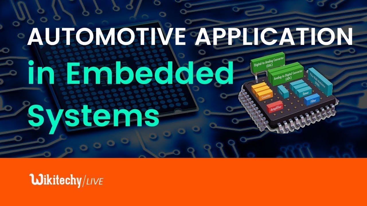 Automotive Application Embedded System Youtube