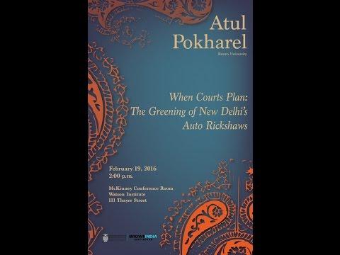 When Courts Plan: The Greening of New Delhi's Auto Rickshaws – Atul Pokharel