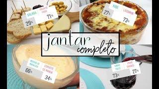 VCS ESCOLHERAM NOSSO JANTAR COMPLETO!!! - Entrada, Prato Principal e sobremesa (ft. TUKA SAMPAIO)