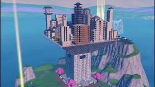 Fortnite- Port-A-Fort City #FortniteBlockParty