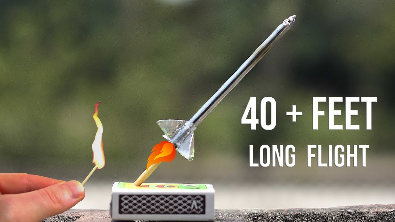 Download How To Make Match Stick Rocket 💥💥💥💥|Easy |Experimental Army