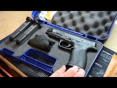 Unboxing the S&W M&P .45