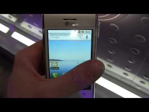 LG GT540 Android phone.mpg