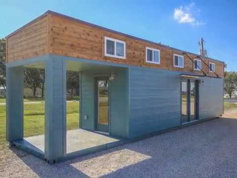 Spectacular 40ft Small Shipping Container Home Design