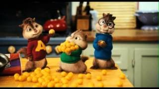 Justin Bieber as long You love me Alvin & the Chipmunks