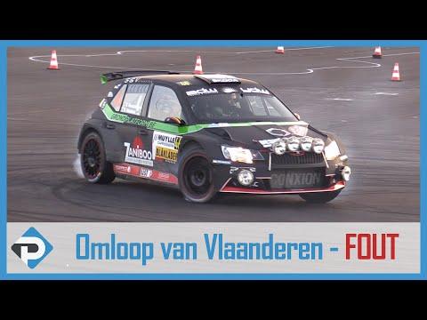 Omloop van Vlaanderen 2018 - Verscheuren in de fout op KP3 Beveren