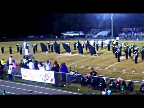 Ashville high school halftime performance 11-1-13