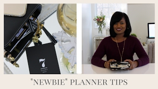 HOW TO START PLANNING:  Planner Tips PLUS My 2017 Planner Set-Up