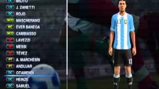 PES 2012-Argentina faces & uniformes Thumbnail