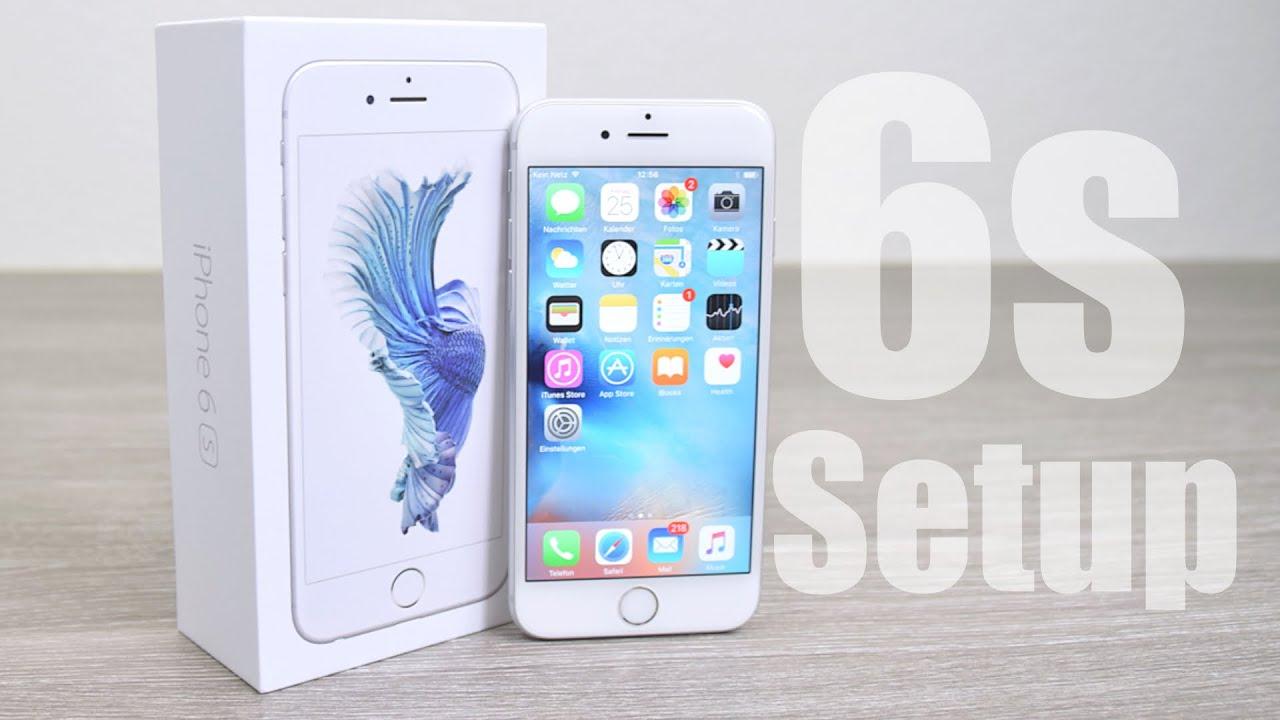 Iphone 6s Sim Karte Einlegen.Howto Iphone 6s Erster Start Setup Und Sim Karte Einlegen Ios 9