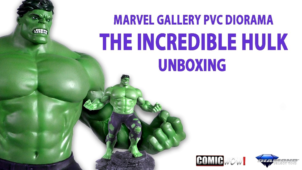 Hulk PVC 11 Inches Action Figure New Diamond Select Toys Marvel Gallery Statue