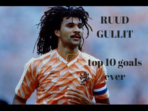 """Ruud Gullit"" •TOP 10 GOALS EVER•"