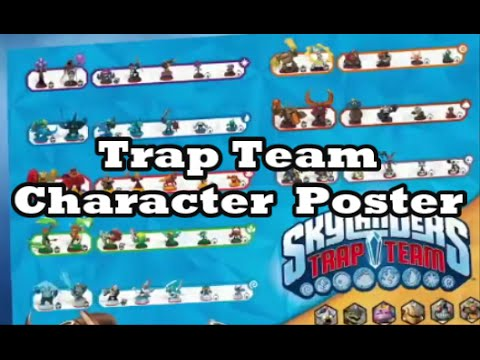 Glimpse of Skylanders Trap Team Character Poster - YouTube