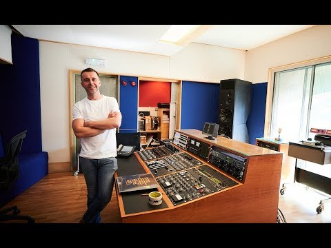 Metropolis Mastering Studios - Matt Colton's new vinyl / digital cutting suite