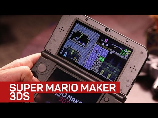 Super Mario Maker lets you make your own Mario worlds on 3DS